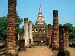昔のたたずまいシーサッチャナーライ遺跡