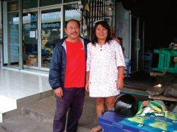 通りがかりの「おじちゃん」とその妹