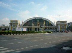 久し振りのフアラムポーング駅(バンコク中央駅)