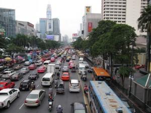バンコクの渋滞は有名